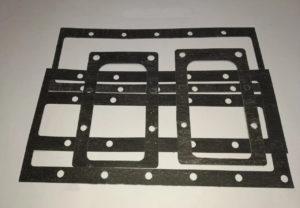 Комплект прокладок для компрессора 4ВУ1-5-9 полный (корпусные + холод.+фланцы) (паронит)